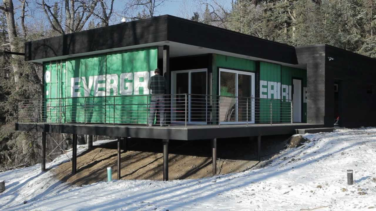 secure shipping container cabin Eat Tomorrow Blog