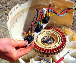 washing machine generator
