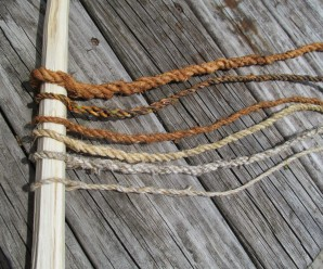 rope from bark