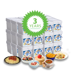 3 Year Long Term Food Storage